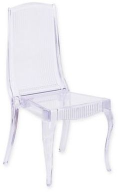 Flash Furniture Crystal Ice Stack Chair With High Back