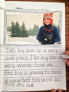 Teacher Bits and Bobs: Use magazine pictures as writing prompts (blog post includes a Christmas Freebie)