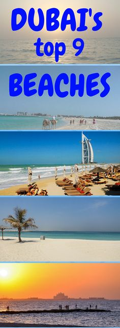 Dubai is home to many different beaches! Find out about the top 9 beaches to visit while you are in Dubai. *Pin for later*
