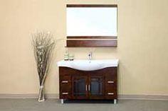 "48"" Bellaterra Home Bathroom Vanity 203138 #BellaterraHome #HomeRemodel #BathroomRemodel #BlondyBathHome #BathroomVanity"
