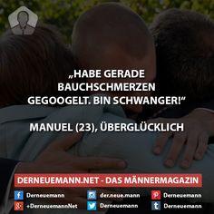 Bin schwanger #derneuemann #humor #lustig #spaß #sprüche #baby