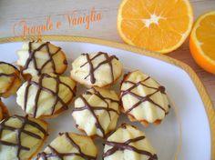 Biscotti gocce d'arancia