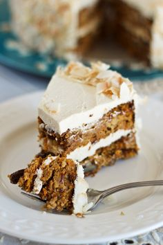 Almost Paleo Carrot Cake   by Sonia! The Healthy Foodie