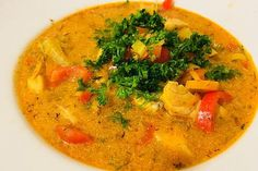 Thai Red Curry, Food And Drink, Low Carb, Ethnic Recipes, Joy, Cooking, Chowder Recipes, Fish Dishes, Soups And Stews