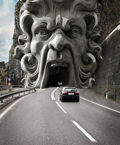 Taste the traffic tunnel | Incredible Pictures