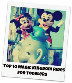 Best Magic Kingdom rides for toddlers!