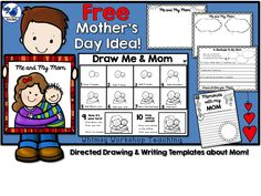 Mother's Day Directed Drawing FREEBIE