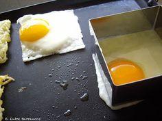 Entre Barrancos (COCINA): Huevos Tostadas, Chorizo, Huevos Fritos, Dairy, Eggs, Cheese, Breakfast, Food, Gastronomia