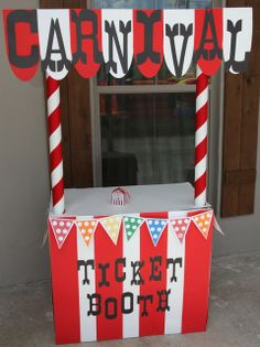 carnival party Birthday Party Ideas carnival party Birthday Party Ideas You are in the right place about DIY Carnival costume Here we offer you the most beautiful pictures about the DIY Carnival signs Carnival Booths, Carnival Tickets, Carnival Decorations, Circus Carnival Party, Spring Carnival, Circus Theme Party, Carnival Birthday Parties, Circus Birthday, Birthday Party Themes