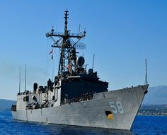 "USS Samuel B. Roberts FFG-58 Souda Bay, Greece July 24, 2013 - 8 x 10"" Photograph"