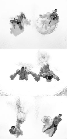 Olympic Swimmers by Adam Pretty