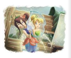 Bess | Flickr - Photo Sharing! Disney Movies, Disney Pixar, Disney Characters, Disney Fairies, Tinkerbell, Pixie Hollow, Mickey Head, Anime Figures, Childhood