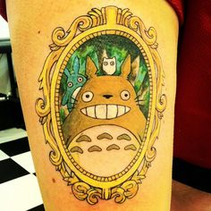 TOTORO!!!! :)Artist: Emily Chilvers aka KillversInstagram: @KillversPincushns Custom Tattooing and Body PiercingDowntown Holland, MI.