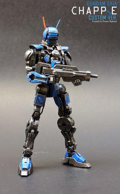 MG 1/100 Gundam Exia CHAPPE Custom Ver. - Custom Build Modeled by PisanuBH