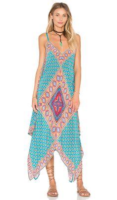 Tolani Drew Dress in Teal Diamond   REVOLVE