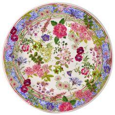 "Gien France ""Mille Fleur"" Canape Plate | Bloomingdale's"
