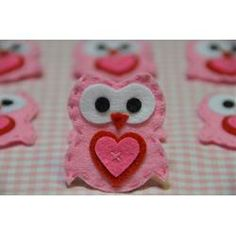 Set of 6pcs handmade felt...
