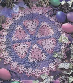 Easter Doily Crochet Pattern