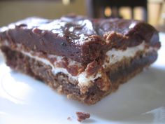 Frosted Marshmallow Brownies | Bakingblonde's Weblog