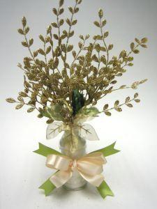 Go Green Wedding Centerpiece