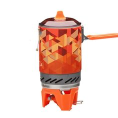 Compact One Piece Camping Stove Heat Exchanger Pot Camping Equipment Gas furnace #CompactOneChina #Outdoor