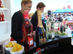 Martini Royale stand