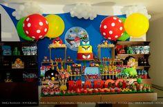 Encontrando Ideias: Festa Angry Birds!!! Festa Angry Birds, Party Fiesta, Bird Party, Desserts, Kids, Caleb, Birthday Cakes, Facebook, Google