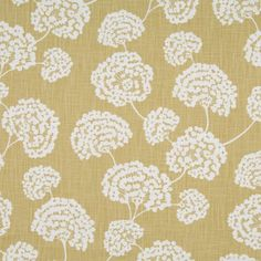 Robert Allen@Home Toile Stems Soft Citron Fabric