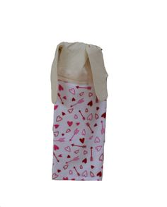 Valentine Towel Arrow and Heart Towel Kitchen by SuesAkornShop