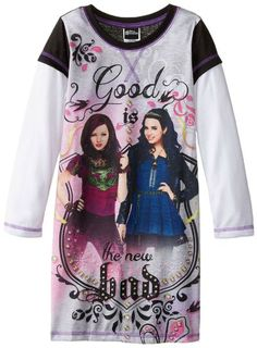 This Disney Descendants Good Is The New Bad Nightgown for girls comes in sizes 6 through 12.