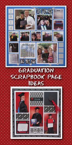Graduation Scrapbook Idea