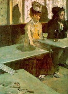 Edgar Degas – Absynt