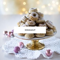 Minikakut Oreo, Cupcakes, Place Card Holders, Pallot, Food, Cupcake Cakes, Essen, Meals, Yemek