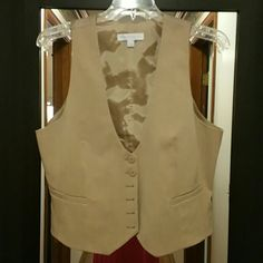 New York and Company Vest Tan vest basically brand new New York & Company Other
