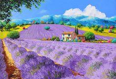 Lavender Under Sunshine Photograph by Jean Marc Janiaczyk