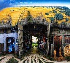 Surreal Pintura - Jacek Yerka