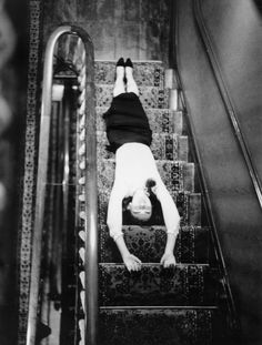 Totally remember doing this on staircases as a kid LOL