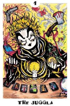 Dark Carnival Tarot - The Juggla (Magician)