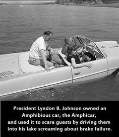 And here's an official source proving that this is true- http://www.nps.gov/lyjo/planyourvisit/presidentialvehicles.htm