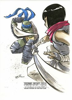 Teenage Mutant Ninja Turtles: Secret History of the Foot Clan by Sophie Campbell *