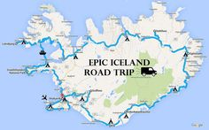 Two-week Iceland Camper Van road trip itinerary - complete with map, photos, helpful tips and detailed information on our trip.