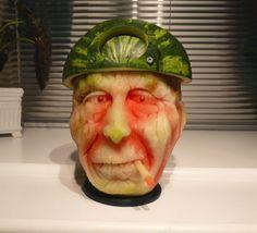 Esculturas de melancias em 3D | S1 Notícias