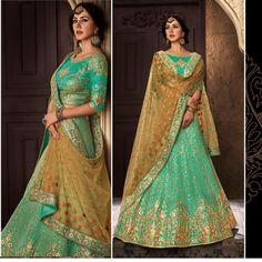 Wedding wear lehenga indian bollywood party lehnga choli bridal set for womens #Shoppingover #LehengaCholi #WeddingPartywearEid