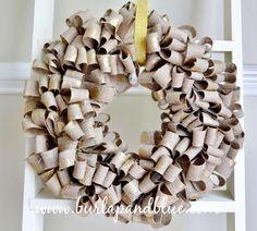DIY Home Decor DIY Fall Crafts : DIY burlap wreath (diy fall crafts leaves) Holiday Burlap Wreath, Diy Wreath, Christmas Wreaths, Wreath Making, Fabric Wreath, Burlap Wreaths, Wreath Ideas, Wreaths Crafts, Christmas Ideas