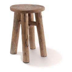 Simplify your life! Beispielsweise mit einem naturfarbenem Hocker aus recyceltem Holz, schlicht und einfach. #oktoberfest #wiesn #impressionen #trends #fashion #dirndl #trachten #ozapftis #münchen #theresienwiese #lederhose #krachlederne