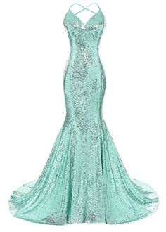 Looking for XSWPL Women's Sequins Mermaid Prom Dress Spaghetti Straps V Neck Backless Gowns ? Check out our picks for the XSWPL Women's Sequins Mermaid Prom Dress Spaghetti Straps V Neck Backless Gowns from the popular stores - all in one. Pretty Prom Dresses, Mermaid Prom Dresses, Cute Dresses, Beautiful Dresses, Awesome Dresses, Maxi Dresses, Event Dresses, Formal Dresses, Fantasy Gowns