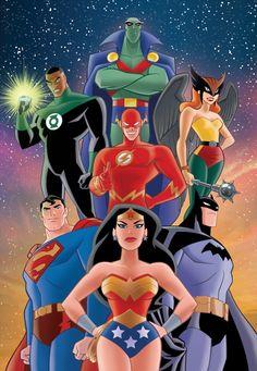 DCAU Justice League - Christopher Jones