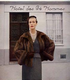 Christian Dior, 1951 Photo Louise Dahl-Wolfe
