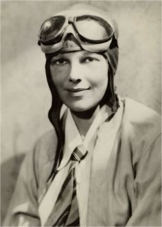 """Amelia Earhart--an inspiring pioneer.  My favorite quote of all time is hers. """"The most difficult thing is the decision...""""  #trustyourjourney"""