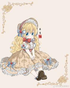 Kawaii Chibi, Kawaii Anime Girl, Anime Art Girl, Anime Princess, My Princess, Sailor Moon Background, Anime Child, Anime Angel, Manhwa Manga